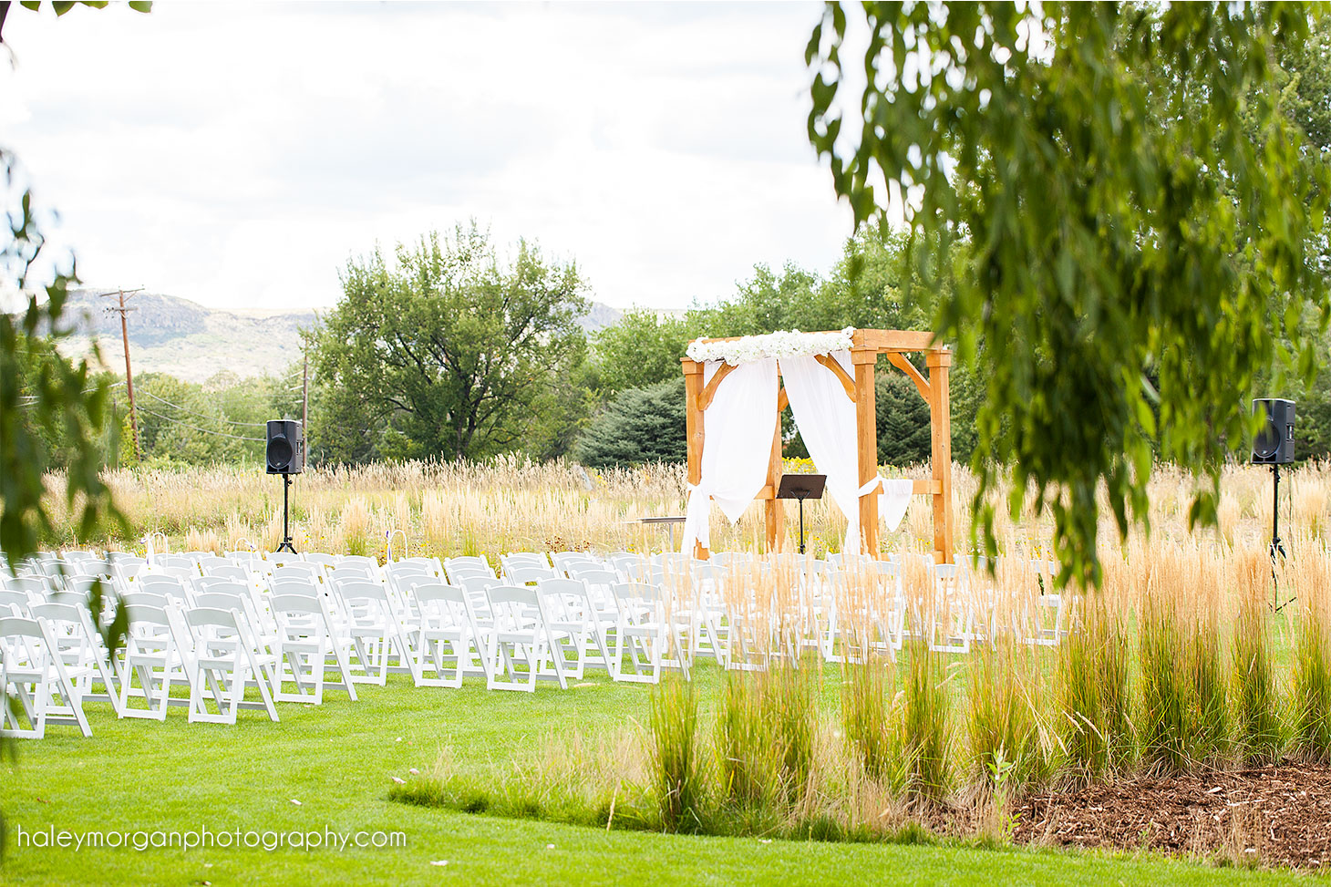outdoor denver wedding location